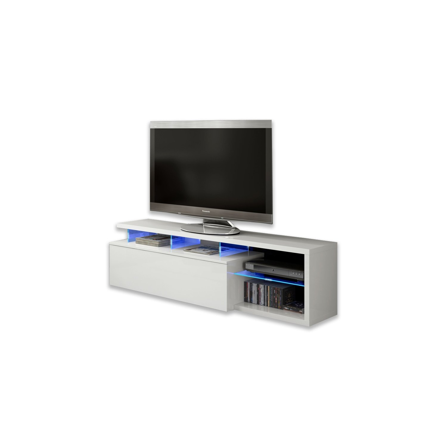 Mueble tv blue tech mesas tv online comprar muebles for Decoracion mueble tv