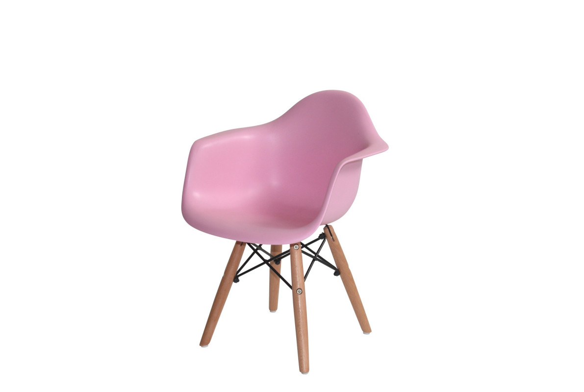 FAUTEUIL BABY TOWER WOOD Couleur-ROSE