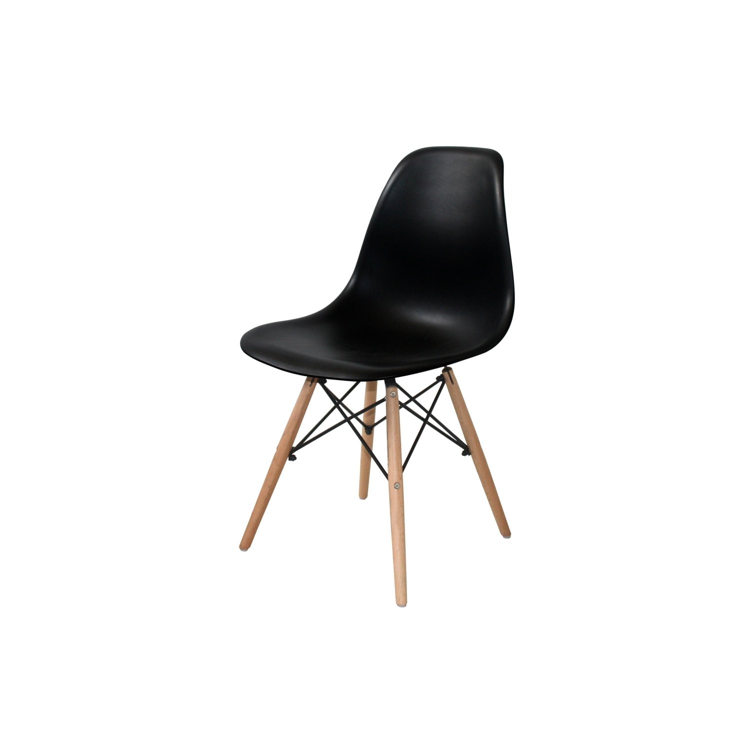 Pack mesa beech y 4 sillas tower wood negras - Silla tower wood ...