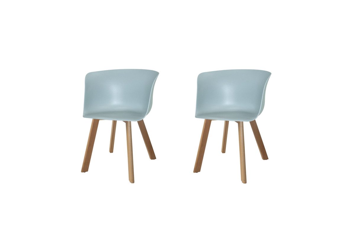 PACK 2 SILLONES WINTER WOOD GRISES