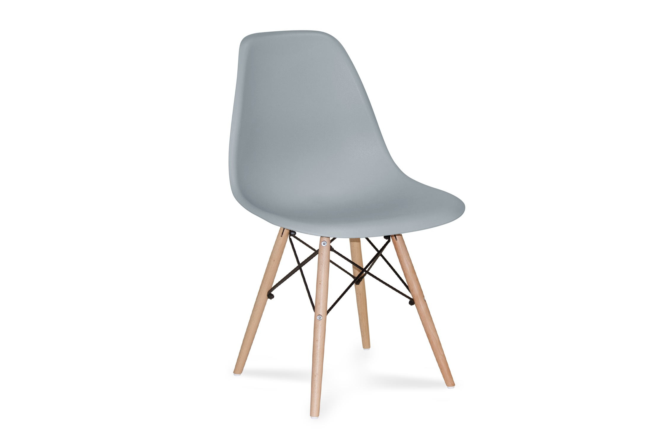 SILLA TOWER WOOD GRIS EXTRA QUALITY