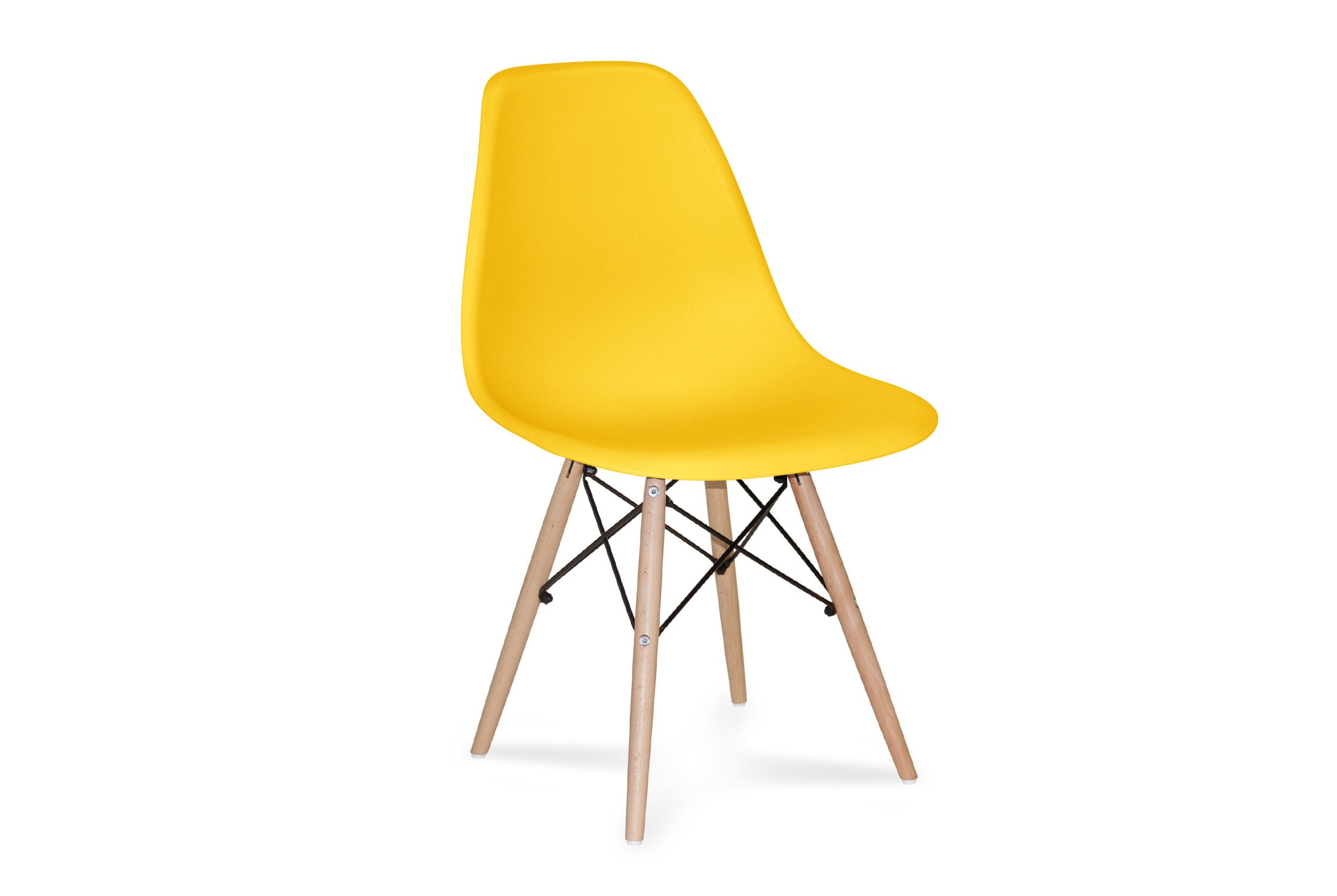 CHAISE TOWER WOOD JAUNE EXTRA QUALITY